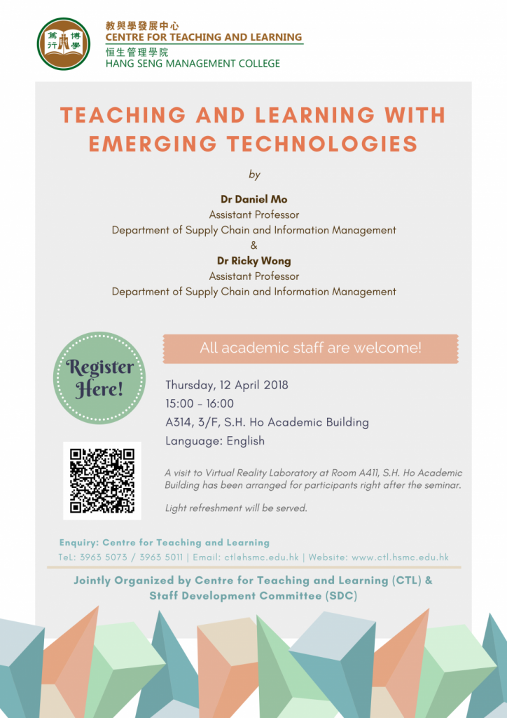 Teaching and Learning with Emerging Technologies