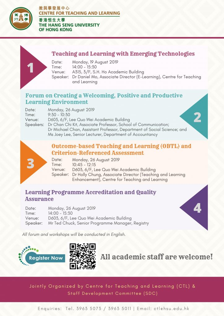 Learning Programme Accreditation and Quality Assurance