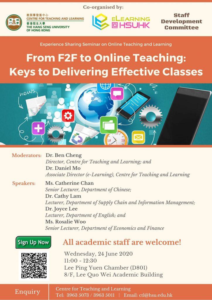 From F2F to Online Teaching: Keys to Delivering Effective Classes