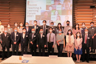 Speakers and the organisers at HSUHK Teaching and Learning Forum 2021
